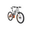 HAIBIKE SDURO FullSeven 8.0 E-MTB fullsuspension Herrer orange/sølv
